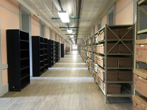 New York State Records Storage in Old Main in Utica