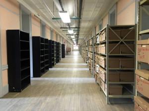 New York State Records Storage in Old Main in Utica