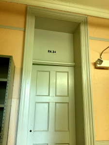 Rm. 34 at Utica State Hospital in NY