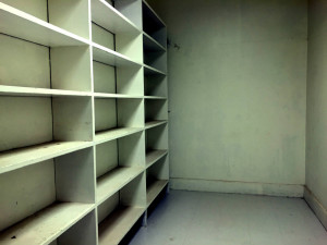 Empty Pantry in the Utica State Hospital