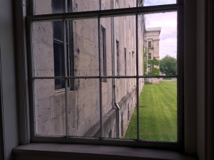 Window View at Utica Asylum