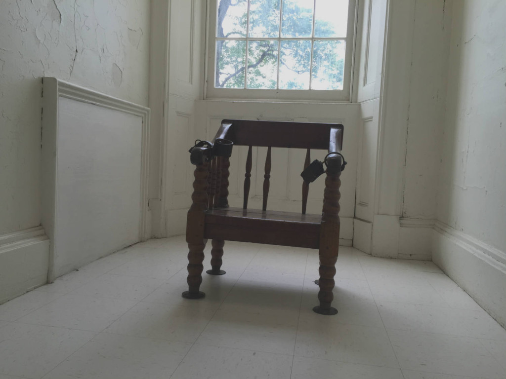 Restraint Chair at the Utica Asylum