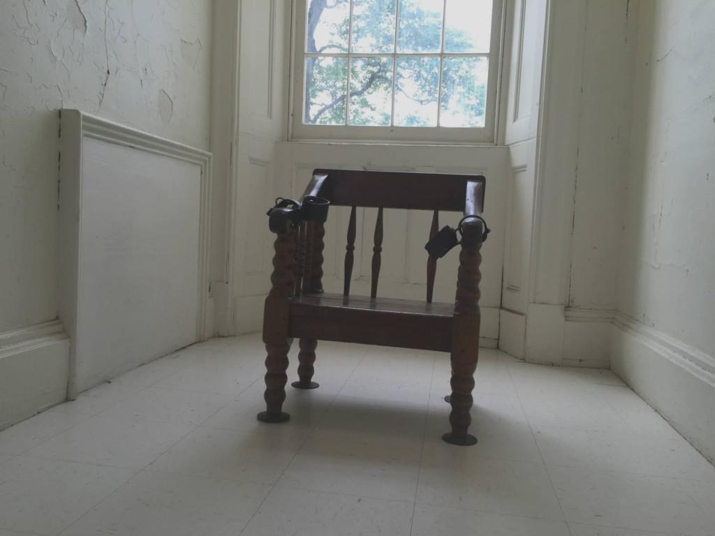 Restraint Chair at the Utica Asylum