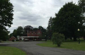 Older Building on the Asylum Campus in Utica, NY
