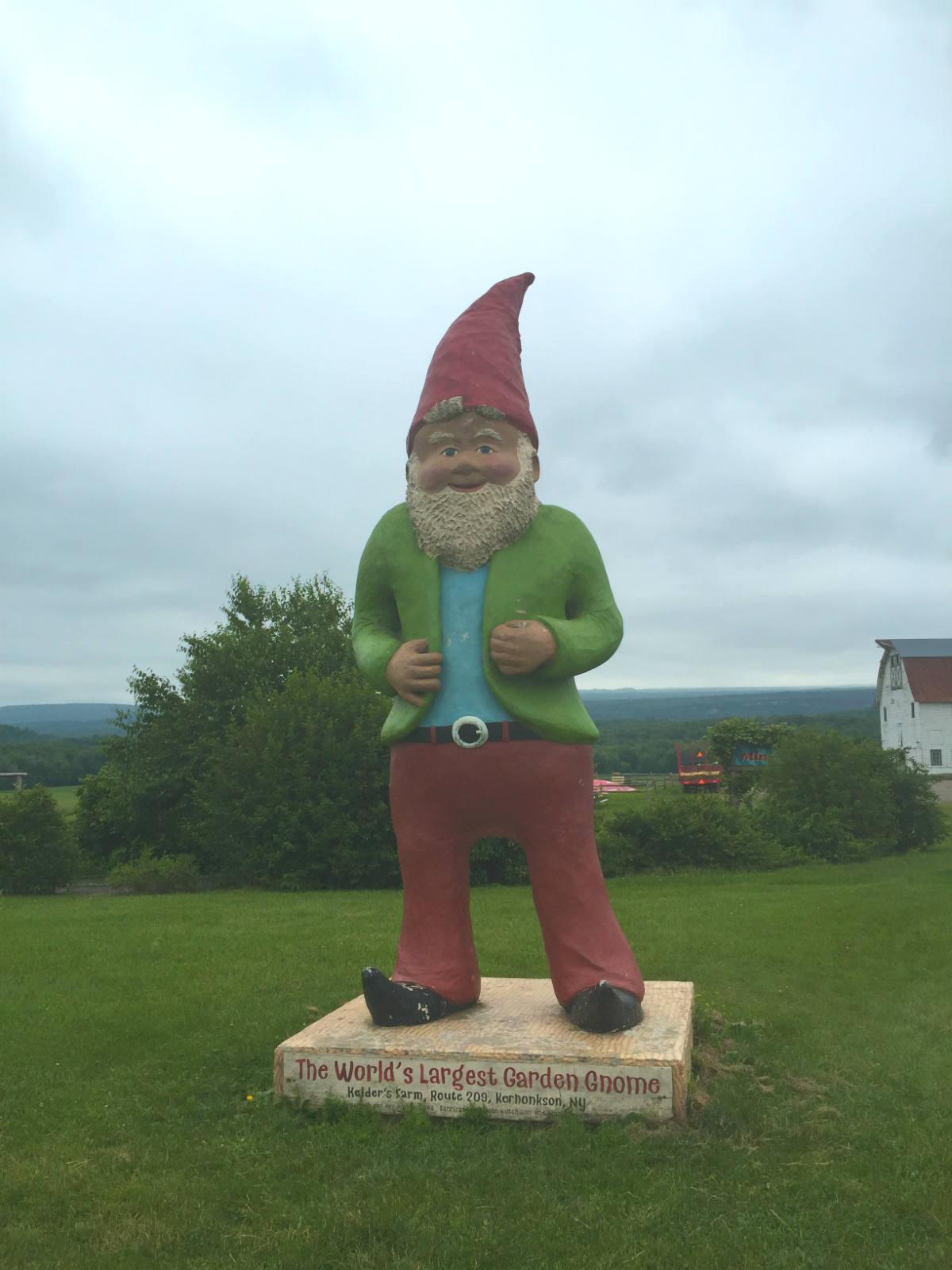 World S Largest Garden Gnome At Kelder Farm In Kerhonkson New York