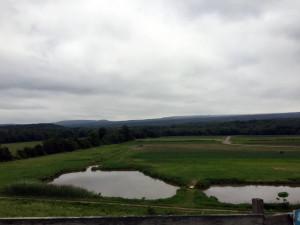 Catskill Mountain Backdrop at Kelder's Farms in Kerhonkson, New York