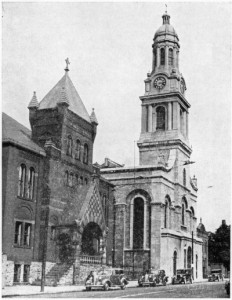 St. Joseph's Church, year unknown. Photo credit to mcnygeneology.com
