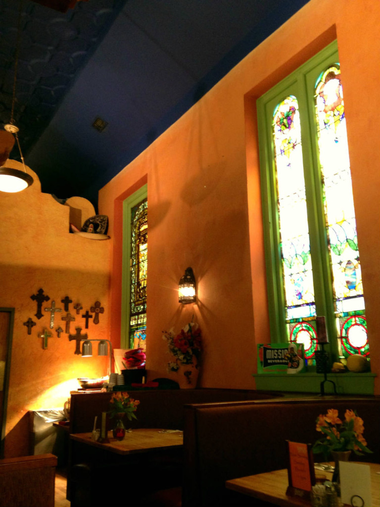 Interior of The Mission Restaurant in Syracuse, New York