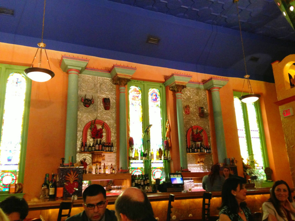 Bar in The Mission Restaurant in Syracuse, New York