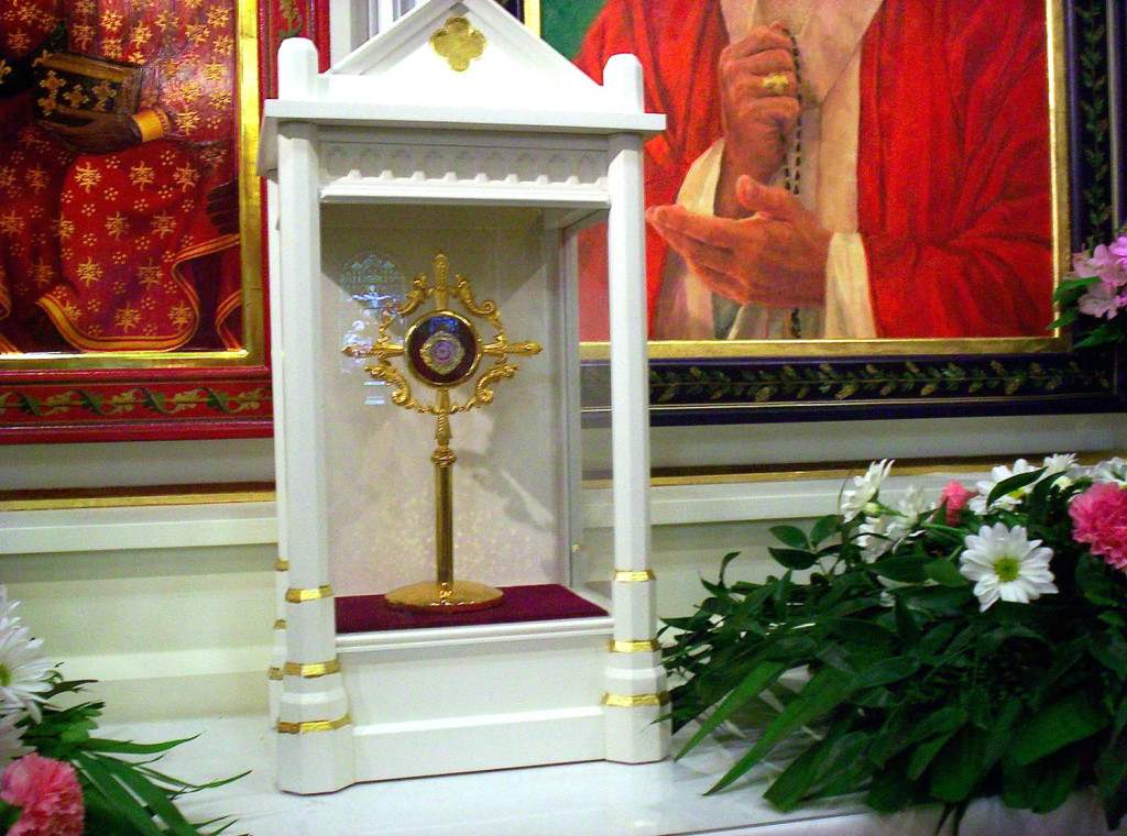 Pope John Paul II Relic at St. Stanislaus Kostka Church in Rochester, New York