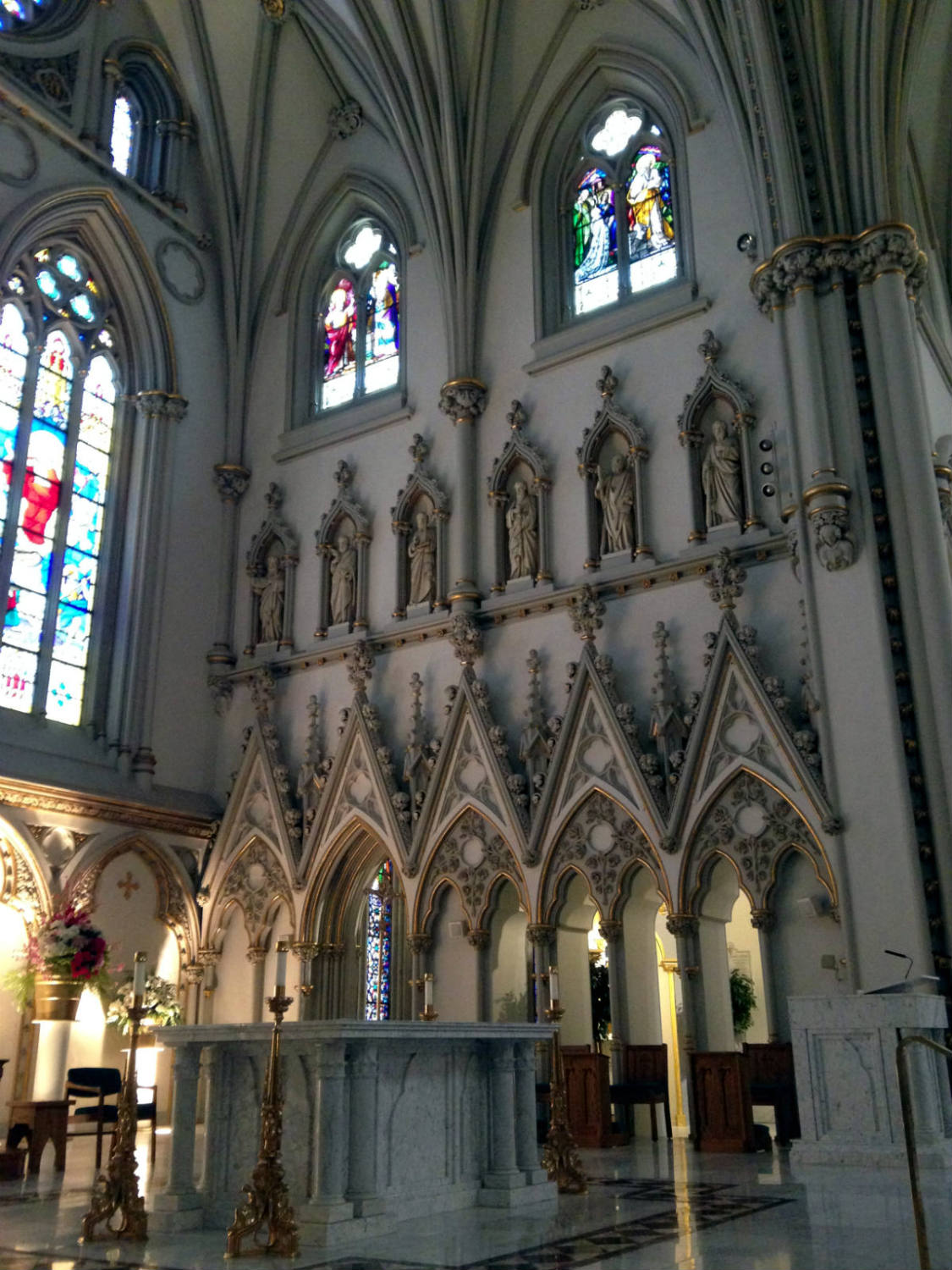 Altar in St. Joseph Cathedral in Buffalo
