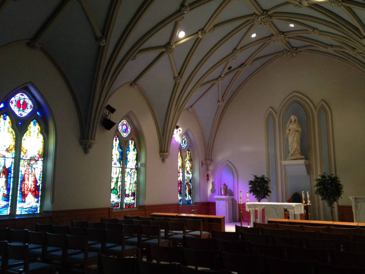 Chapel at St. Joseph Cathedral in Buffalo