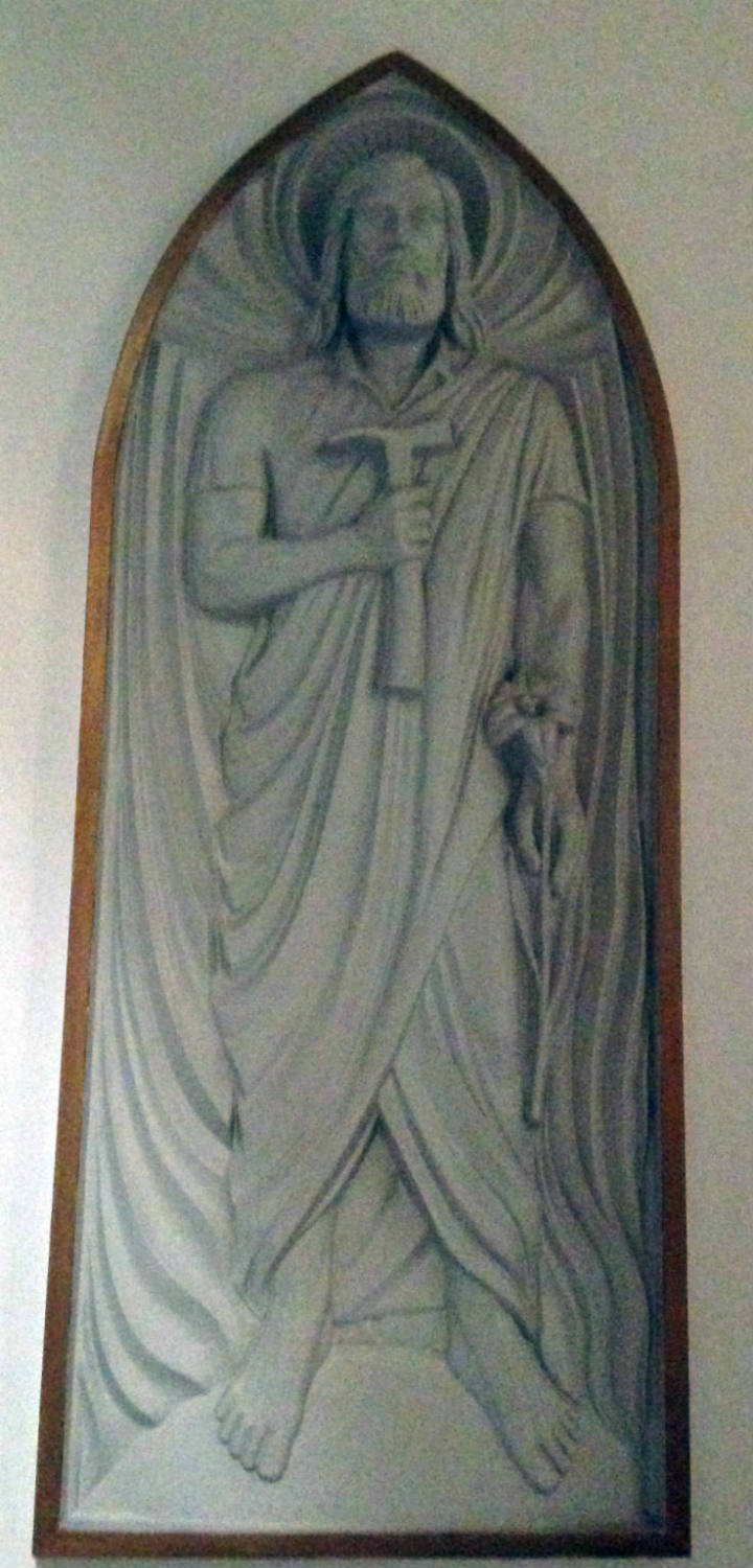 Statuary inside St. Joseph Cathedral in Buffalo