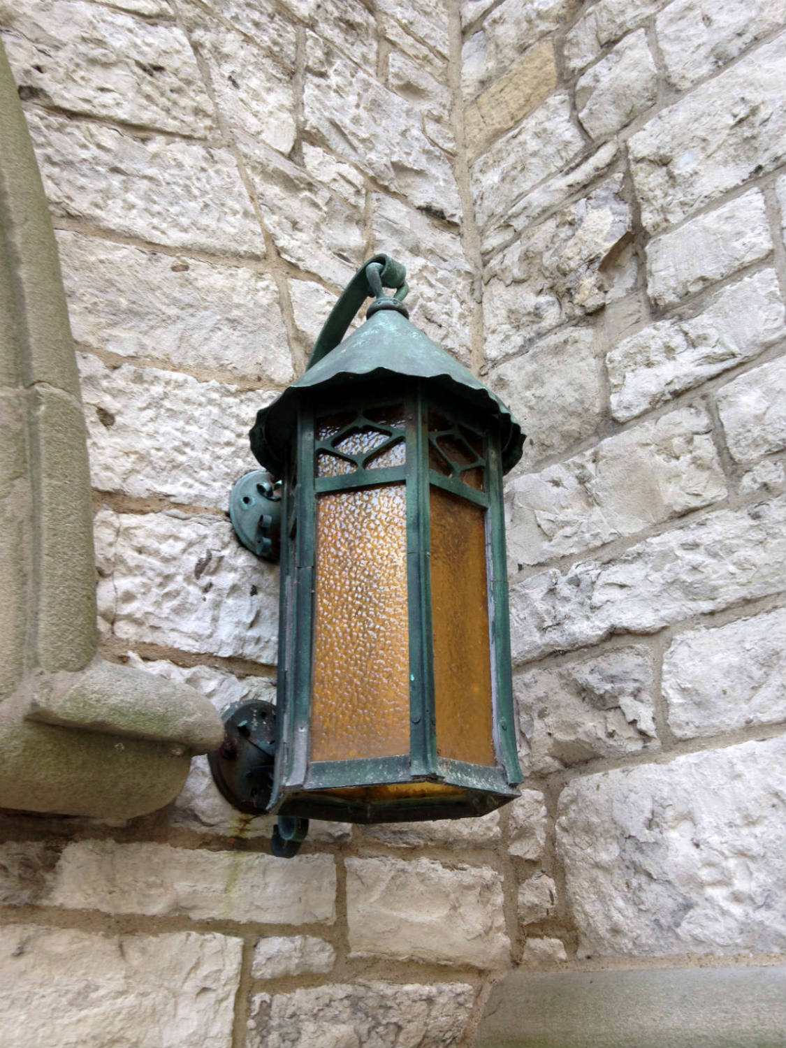 Outside Lantern at St. Joseph Cathedral