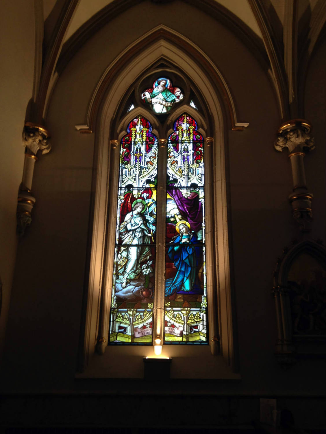 Stained Glass in St. Joseph Cathedral in Buffalo