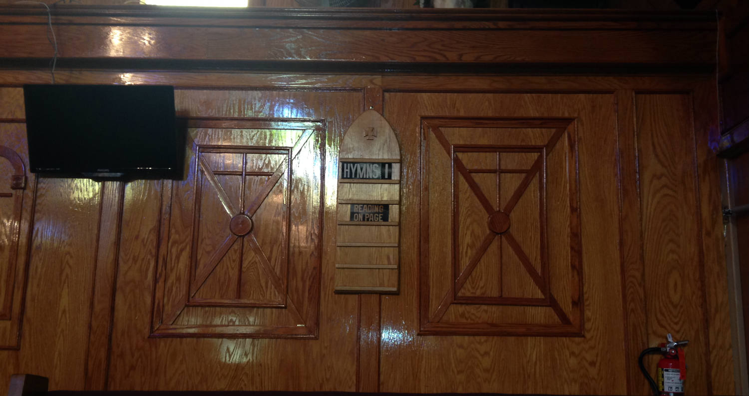 Mt. Erie Baptist Church - The First Panel Prophet Isaiah Completed