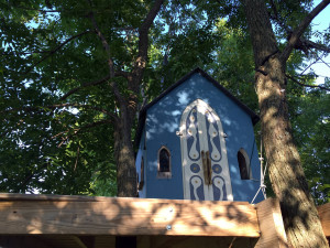 The Church Tree House in Geneseo
