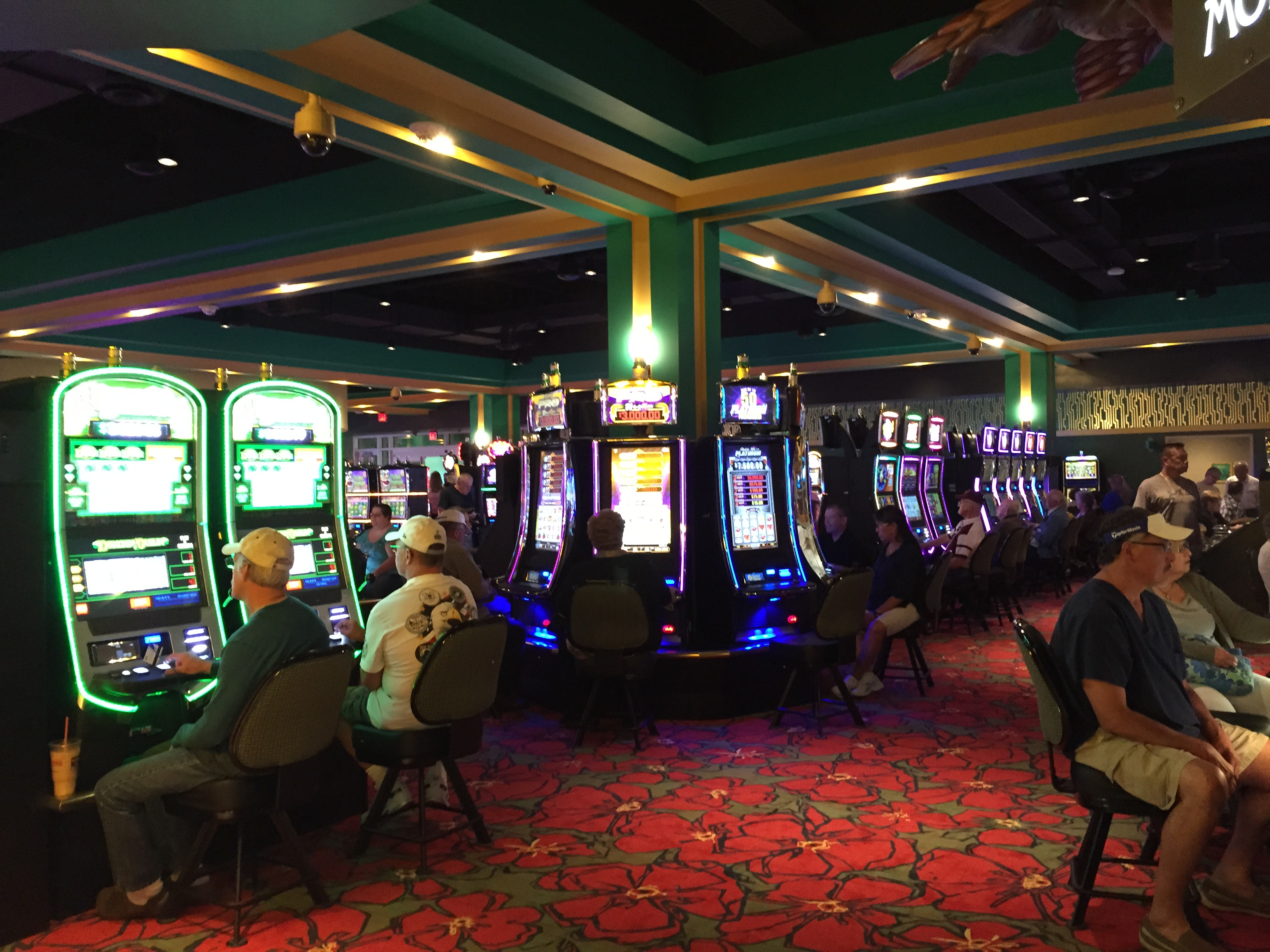 Inside the Yellow Brick Road Casino in Chittenango