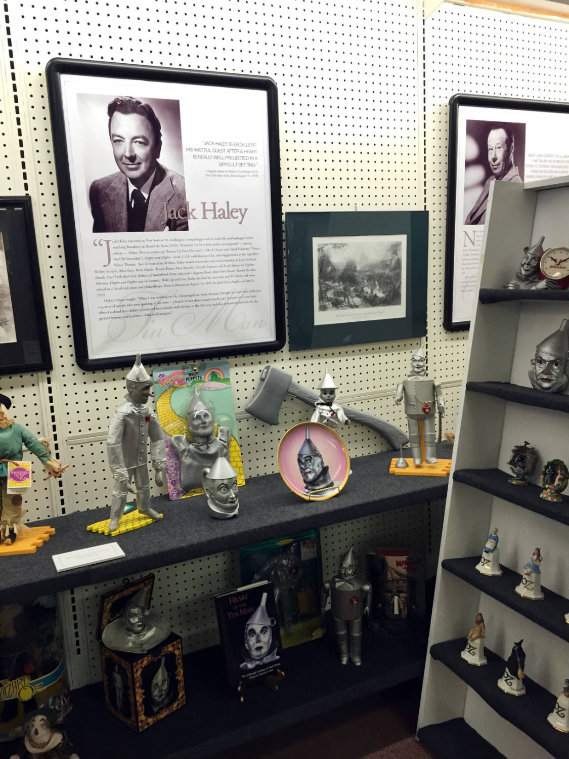 Jack Haley Display at the All Things Oz Museum in Chittenango, New York