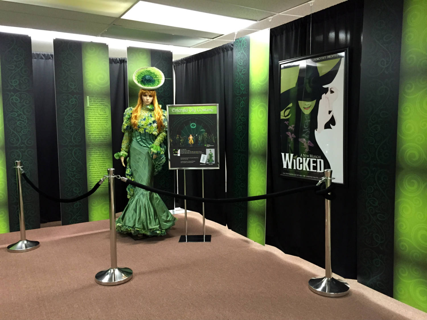Dress from Wicked musical in Chittenango