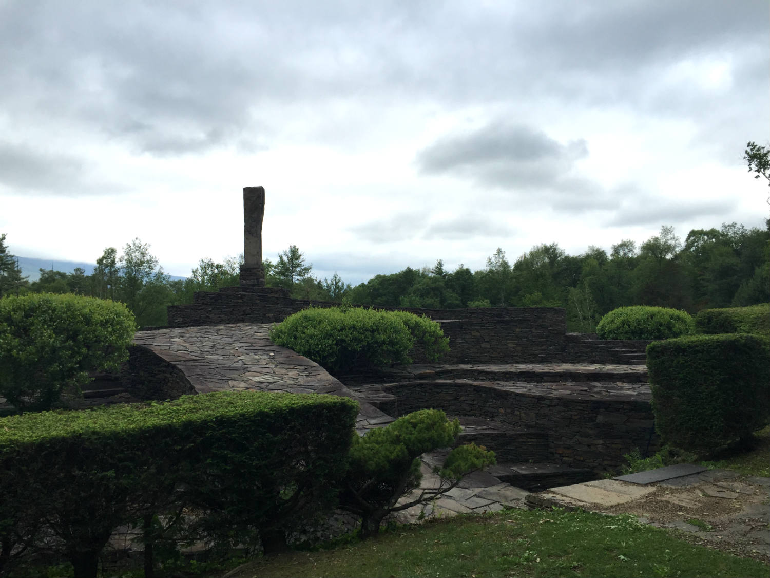 Opus 40 and Overlook Mountain in Saugerties, NY