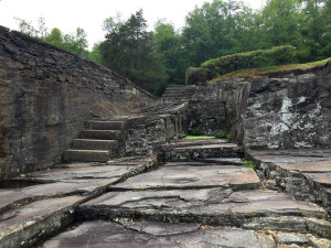 Stairs and Stones at Opus 40 in Saugerties, New York
