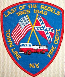 Last of the Rebels Town Line, NY Fire Department Patch