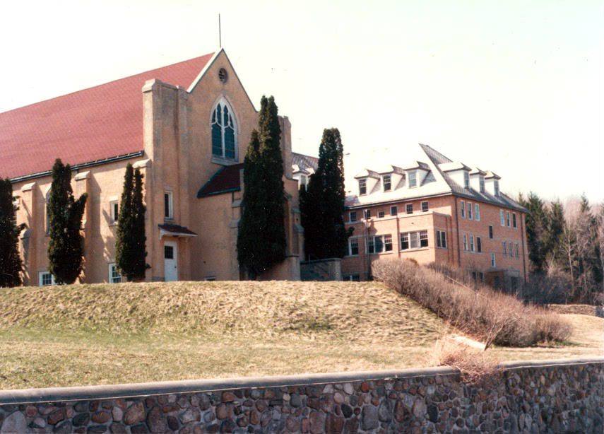 The Chapel at St. Michael's Mission in Conesus