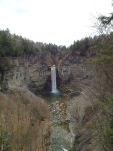 Taughannock Falls State Park in Ithaca, NY