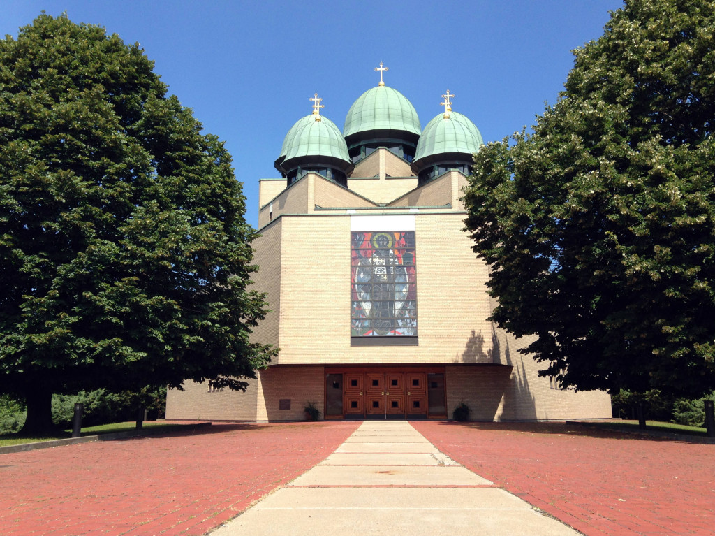 St. Josaphat's Church in Rochester, New York