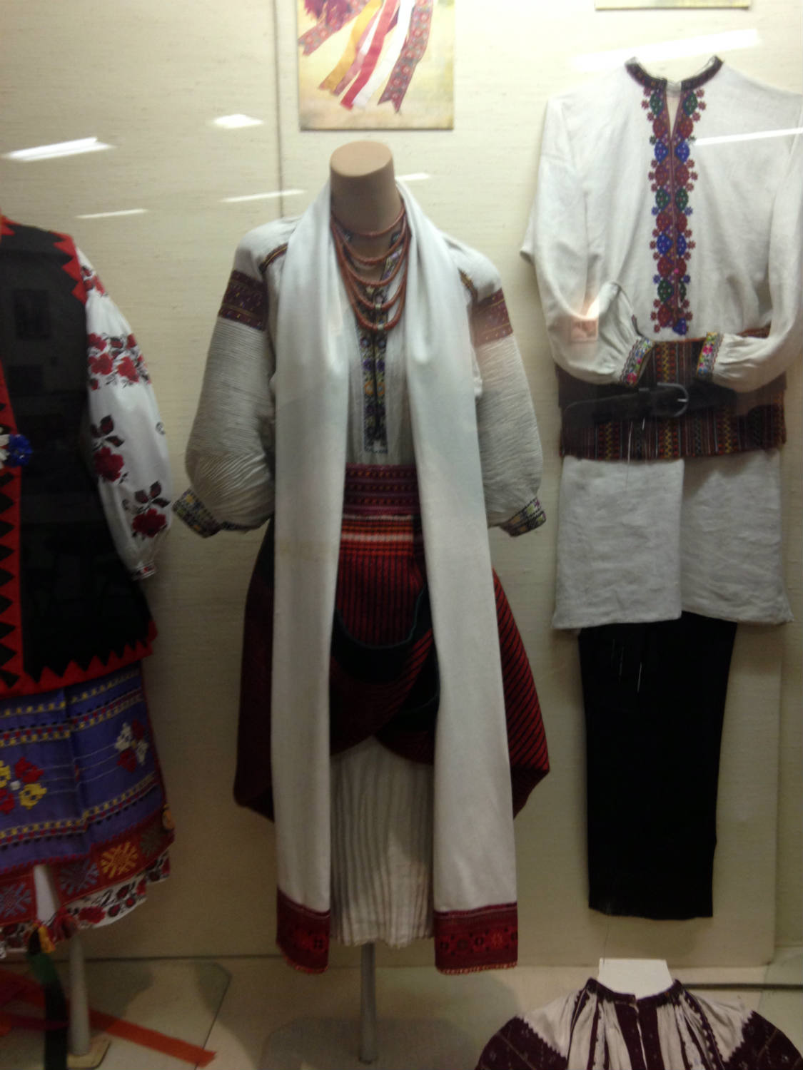 Traditional Ukrainian Costumes at St. Josaphat's Church in Rochester, New York