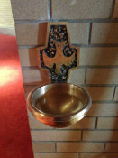 Holy Water at St. Josaphat's Church in Rochester, NY