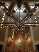 Chandelier in St. Josaphat's Church in Rochester, New York