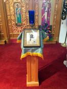 Icon at St. Josaphat's Ukrainian Church in Rochester, NY