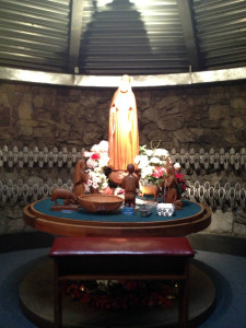 Side Alter at the Shrine to Our Lady of Fatima in Lewiston, New York