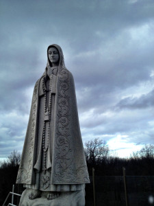 Our Lady of Fatima Statue in Lewiston, New York