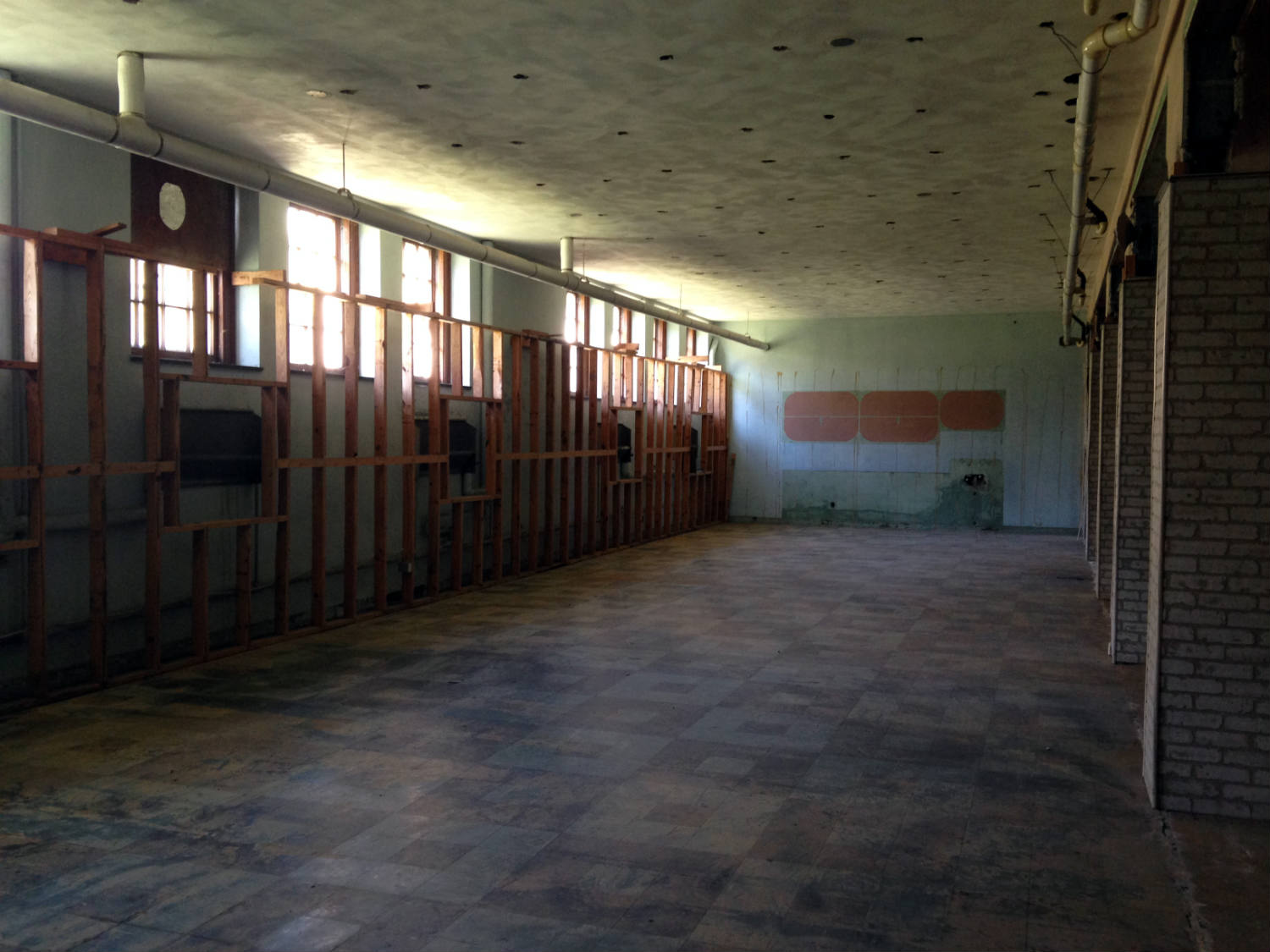 Former Cafeteria in the former St. Michael's Mission in Conesus, NY