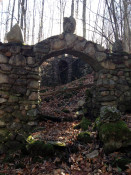Grotto Entrance at former St. Michael's Mission in Conesus, NY
