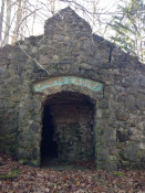 Grotto of the Agony entrance at the former St. Michael's Mission