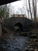 Popular Bridge to the Grottos in Conesus