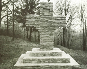 The Stone Cross on Sandy Hill in Wayland