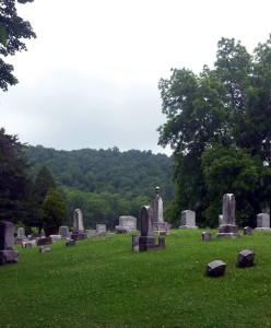 Scottsburg Union Cemetery in Conesus