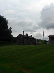 Log Cabin in Ricky Greene Memorial Park in Conesus