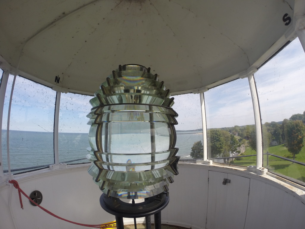 Fresnel Lens in Sodus Bay Lighthouse Museum