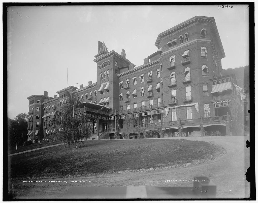 Jackson Sanatorium in Dansville, NY