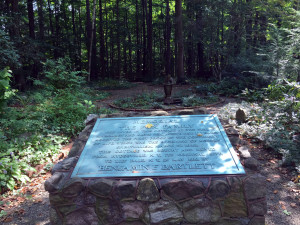 Fox Home Memorial in Lily Dale
