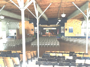 Auditorium in Lily Dale
