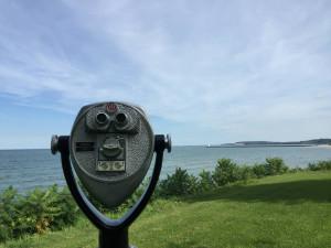 Lake Ontario Shoreline and Sodus Bay Pier