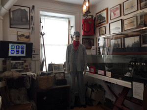 Artifacts in the Sodus Bay Lighthouse Museum