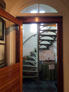 Staircase at Sodus Bay Lighthouse Museum